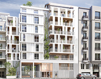 Building in Grenoble for Daufresne Le Garrec