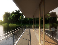 Visualisierung Haus am See