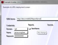 WPF based Installer