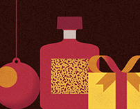 EasyJet Magazine — The Advent Calendar of Cocktails