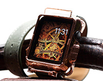 Steampunk Apple Watch Cover - 42 mm Series 0 - 3