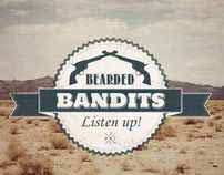 Mixtapecover - Bearded Bandits, Listen Up!
