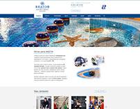 Дизайн сайта Фитнес-центра ВИДГОФ