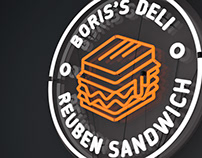Boris's Deli |Packaging and branding