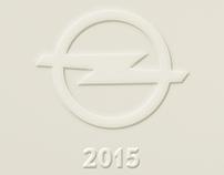 Carte de voeux Opel