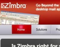 Zimbra Web Page