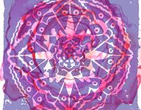 Butterfly Kaleidoscope Prints
