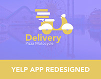 YELP REDESIGN. ICONS