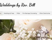 Weddings by Rev. Bill