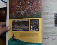 «Die Radlerei» Werbung im  a-mag, 2013
