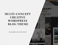 Concept Blog - Powerful Creative WordPress Theme