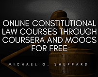 Online Constitutional Law Courses | Michael G. Sheppard