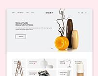 Chair It E commerce UI Design