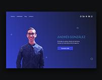 AG Landing Page Design