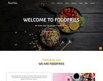 Foodfries - Best Restaurant Website Template