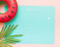 Daily UI - Day 038 - Calendar