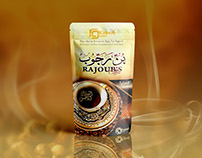 Rajoub Coffee Packaging Design
