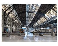 Estación de França. Barcelona. España