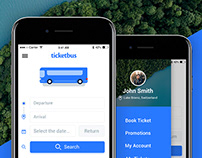 Ticket Bus / App Design Project