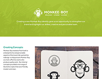 Monkee-Boy Rebrand