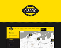 Classic Burger Joint Restaurant Website Design