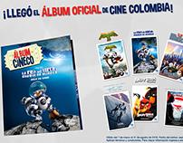 Animación - Álbum Cineco