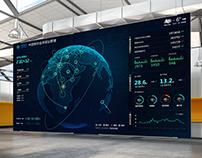 数据可视化大屏Big data visualization