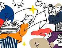 Иллюстрация для ОВД-Инфо