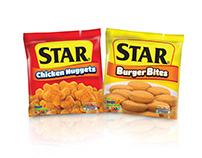 STAR Chicken Nuggets and Burger Bites Branding Update