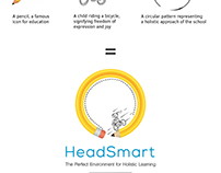 HeadSmart branding alternatives by StartTall Branding