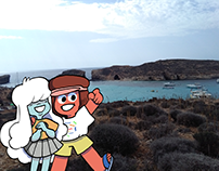 Ruby and Sapphire (Comino)