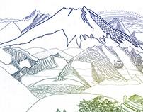 Illustration - Mountains