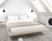 3D // Siena bed