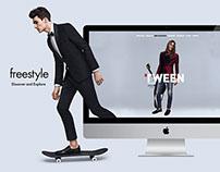Tween SS15 Website Design