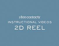 1800 Contacts 2D Reel