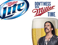 Danny Trejo as The Protector of Miller Time