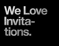 We Love Invitations