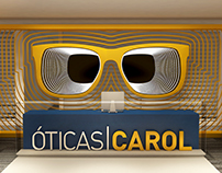 ÓTICAS CAROL - CONCEITO DE RECEPÇÃO