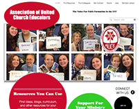Association of United Church Educators Website, 2015