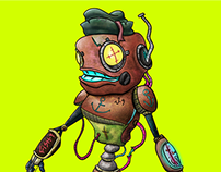 Sailorbot Fish-9 ~ Marinheiro robô Fish-9