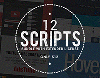 12 Website Scripts With Commercial License