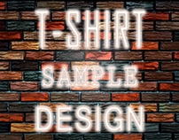 T-shirt sample Design
