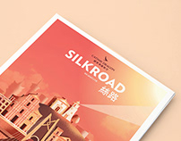 Cathay Dragon Silkroad Magazine Cover - May