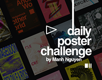 DAILY POSTER CHALLENGE (SERIE 2 - 45 POSTERS)