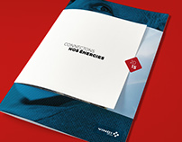 Annual Report concept for VINCI Energies
