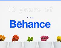 10 years of behance!
