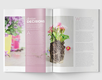 Magazine Template - InDesign 24 Page Layout V16