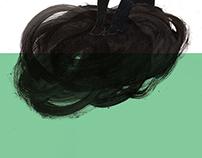 Lil Sad Sack // Collage Illustration