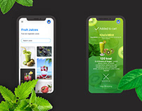 Customise And order fruit juice Online - iOs app