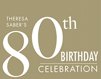 80th Birthday Lunch Invitation